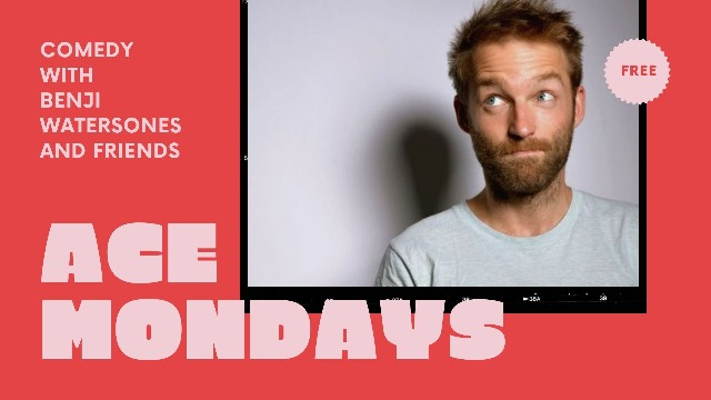 Ace Mondays with Benji Waterstones